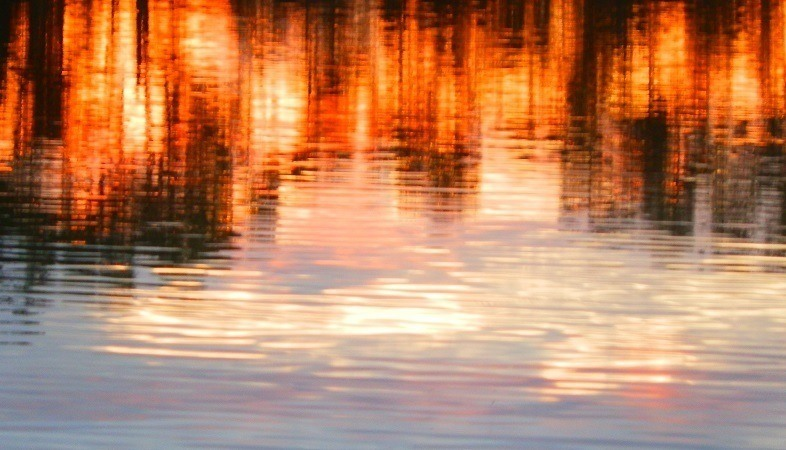 Lake Lascelles Sunset Reflections, Victoria