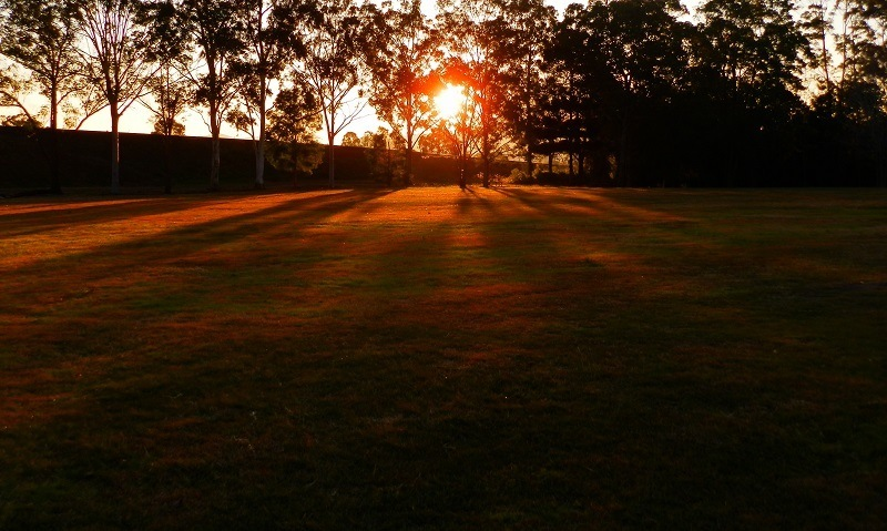 Sunset at Kyogle, New South Wales