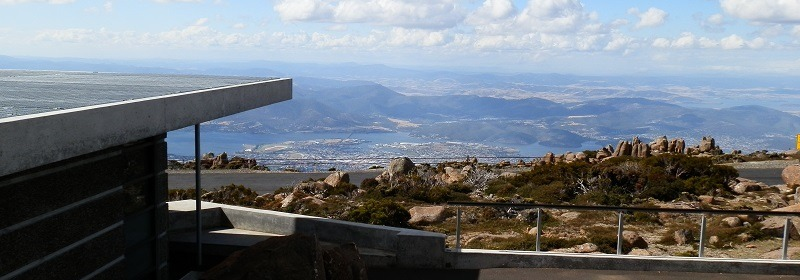 Mt Wellington Loo AND View!