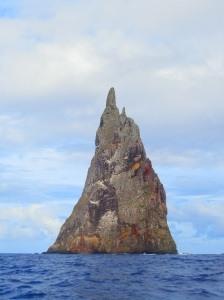 Balls Pyramid, via Lord Howe Island