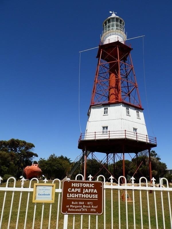 Cape Jaffa Lighthouse, South Australian Lighthouses