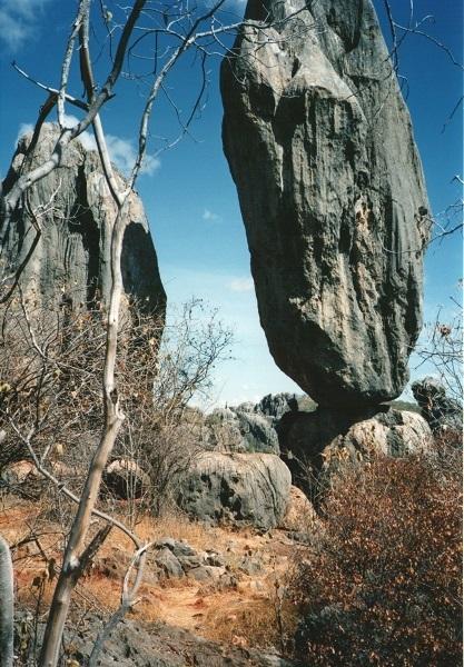 Balancing Rock, Chillagoe, Queensland