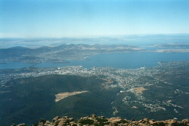 Mt Wellington Summit View
