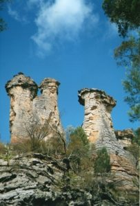 The Chimneys, Mt Moffatt, Queensland