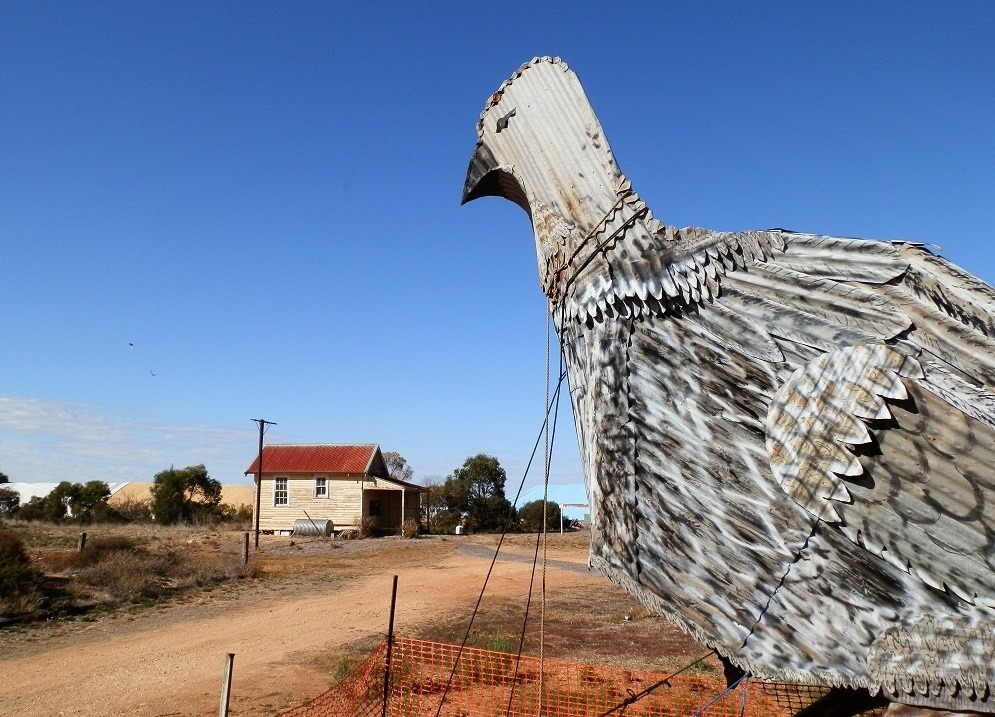 The Big Malleefowl, Patchewollock