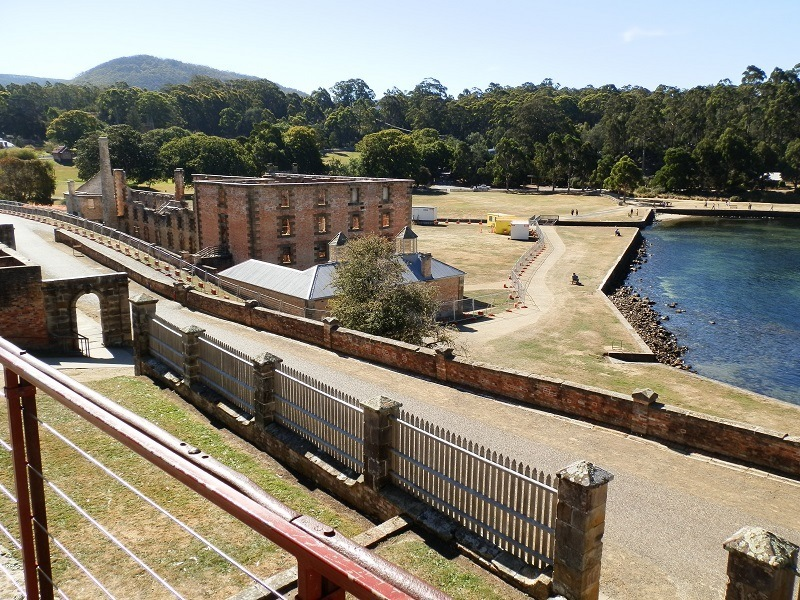 Penitentiary from Commandant's House, Port Arthur, Tasmania