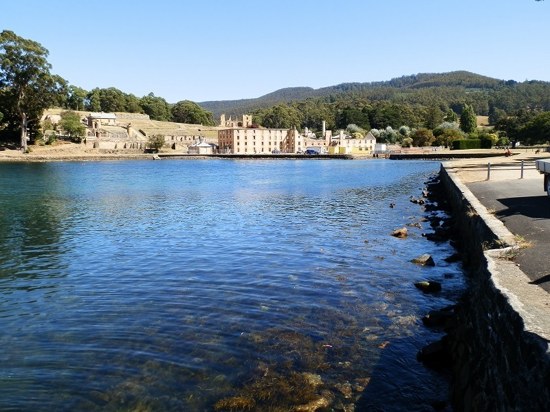 Port Arthur Penitentiary from Jetty, Tasmania