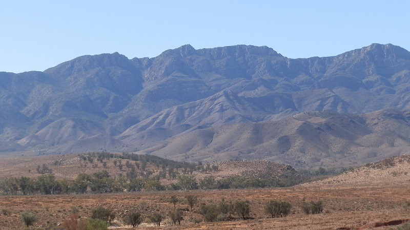 Flinders Ranges near Parachilna, South Australia