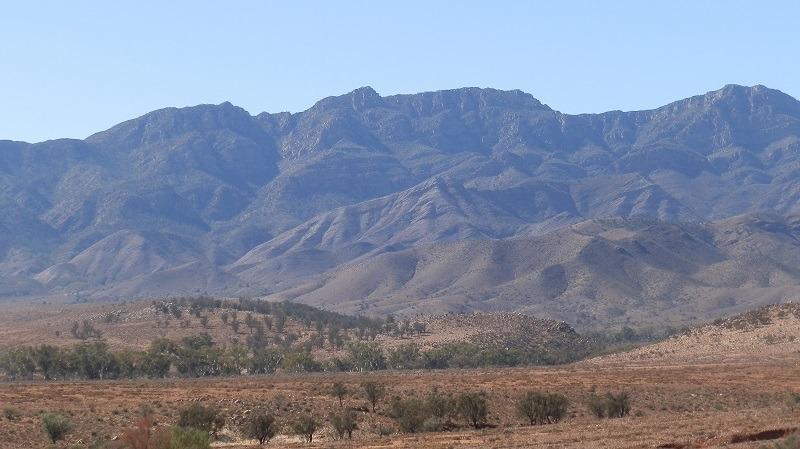 Flinders Ranges near Parachilna, South Australia