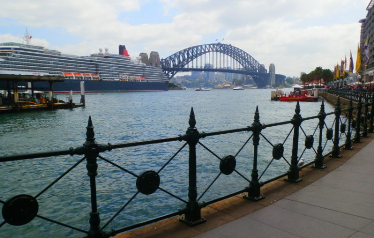 Harbour Bridge from Circular Quay, Sydney