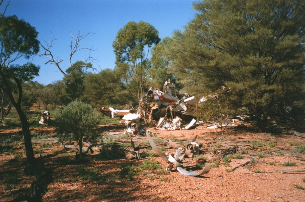 Plane Wreck on Station, Quilpie Mail Run