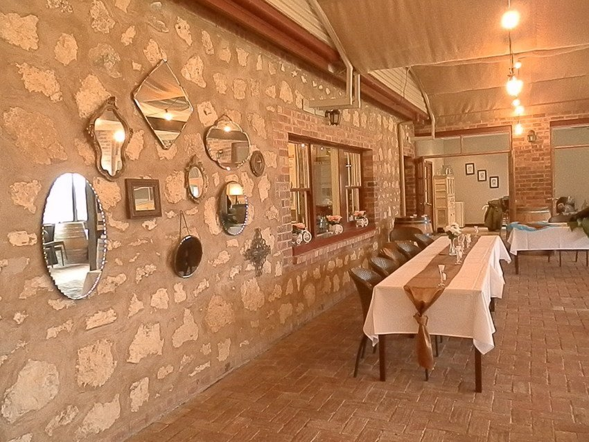 Inside the Winehouse Dining and Function Room, Langhorne Creek