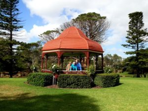 Strathalbyn Gazebo - where the ceremony WOULD have been held if the weather had held!