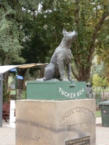 Gundagai's Dog on Tuckerbox Memorial, New South Wales