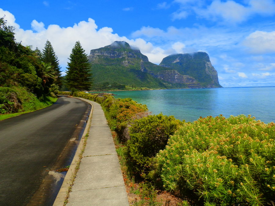 THOSE Mountains! Mounts Lidgbird and Gower, Lord Howe Island, New South Wales