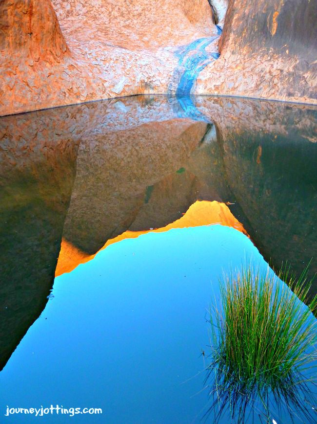 Uluru Waterhole (photo courtesy of LInda, Journey Jottings)