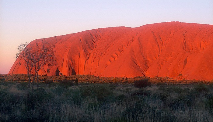 Uluru (Photo Courtesy Andy Tope, Travelling Type)
