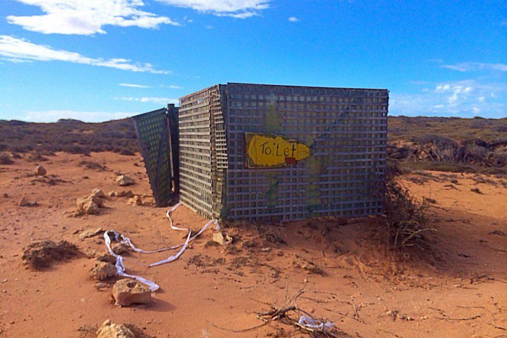 Gnaraloo Toilet, Western Australia