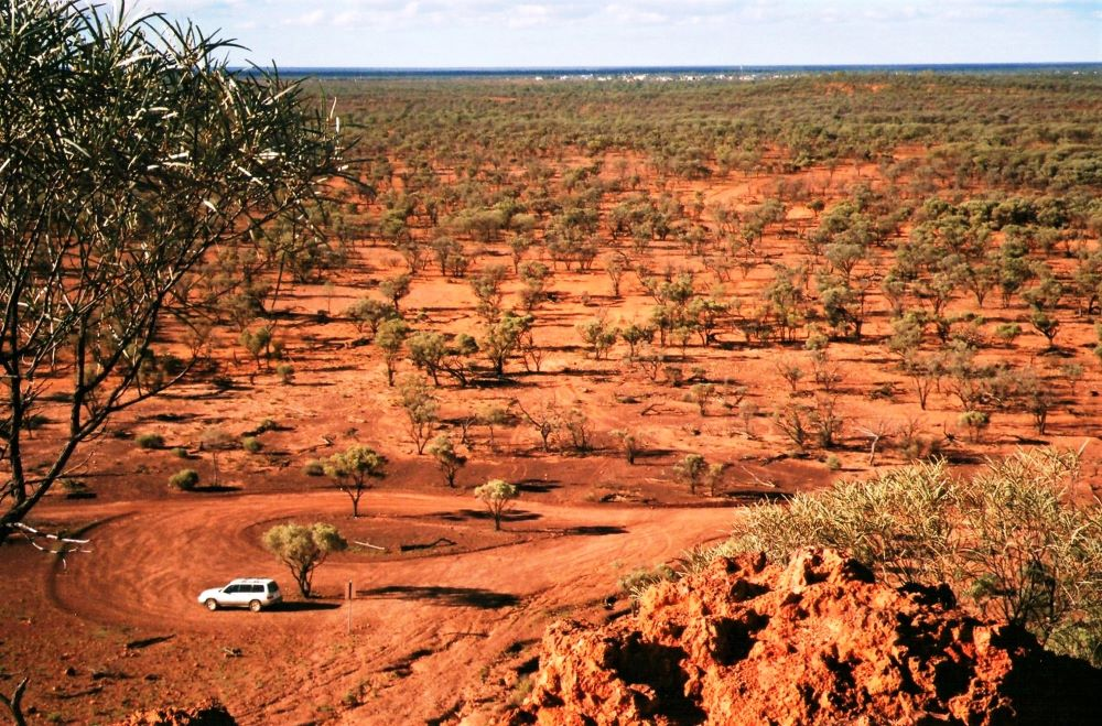 View from Baldy Top Lookout, Quilpie, Outback Queensland