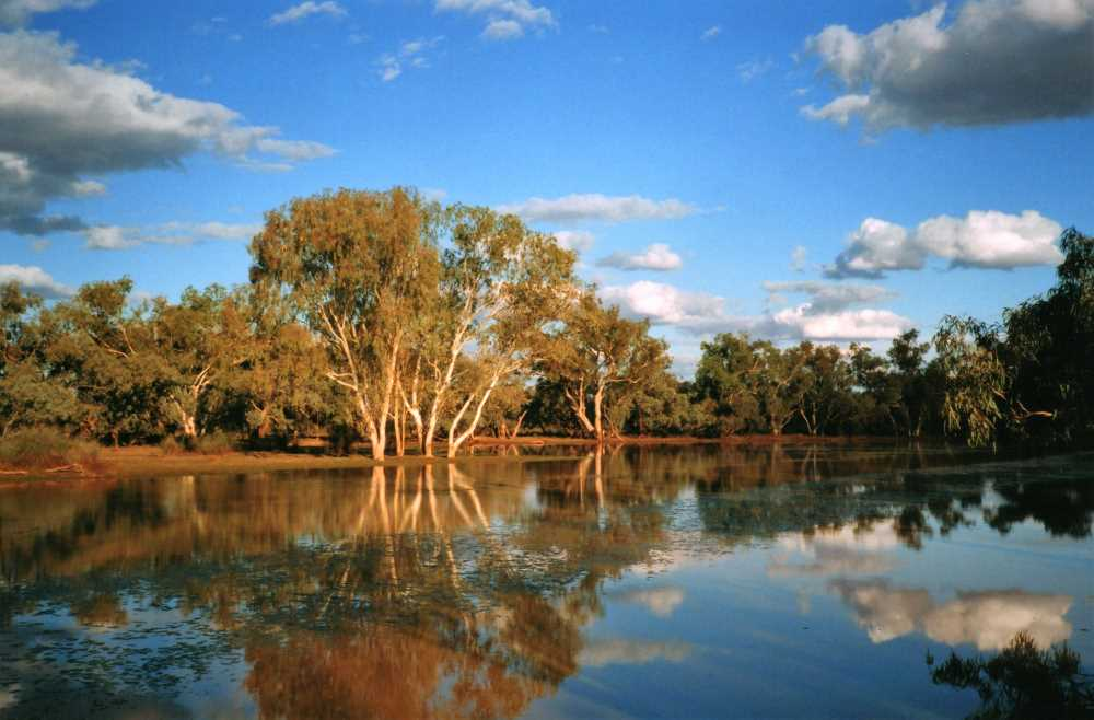 Lake Houdraman, Quilpie, Outback Queensland
