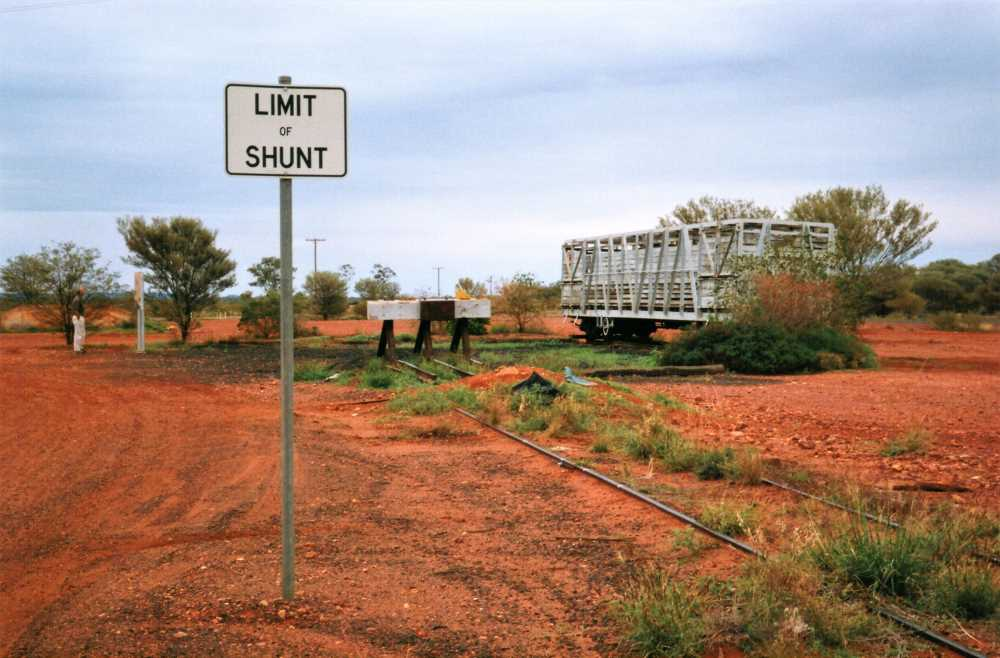 End of the Railway Line, Quilpie, Outback Queensland