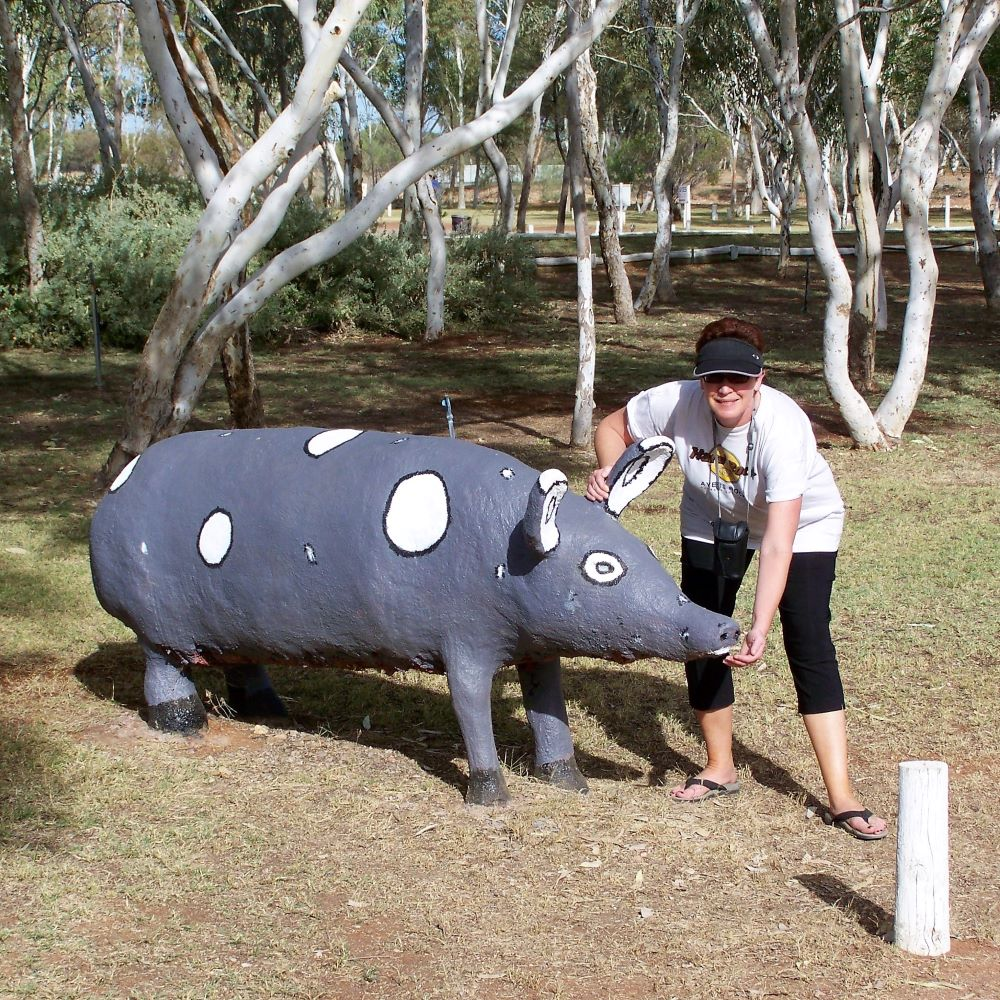Giant Pig, Wycliffe Well, Northern Territory