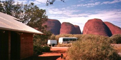 Kata Tjuta view from the Loo, Northern Territory