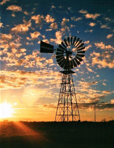 Thargomindah Windmill