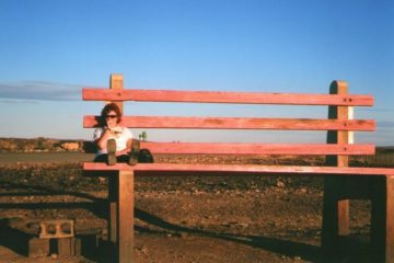 The Big Park Bench, Broken Hill, New South Wales