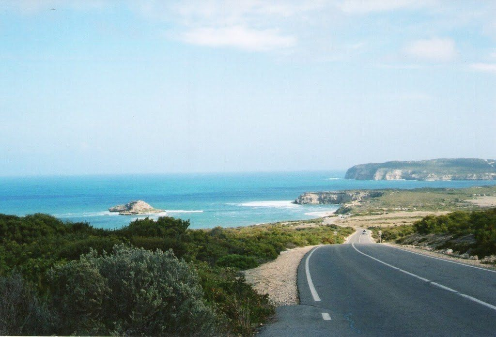 Entrance to Innes National Park, Yorke Peninsula, South Australia