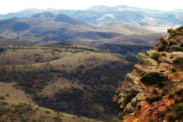 View from the Dutchman's Stern Summit, Flinders Ranges, South Australia