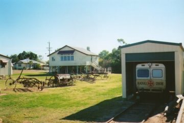Ambulance Train in Blackall Museum, Queensland