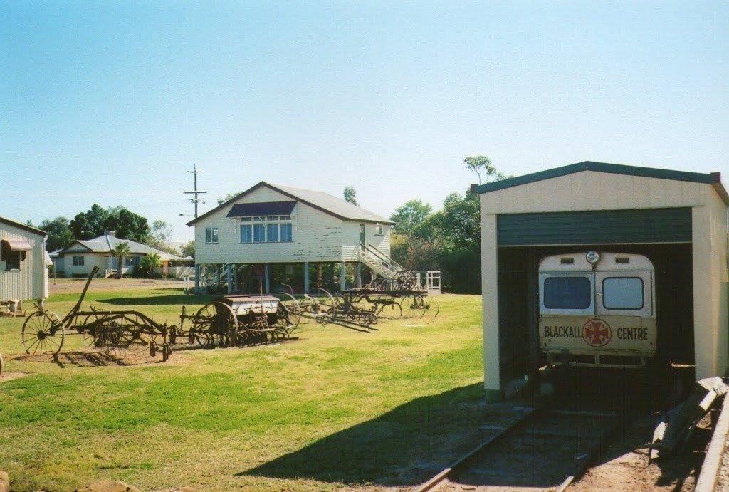 Ambulance Train in Blackall Museum, Queensland