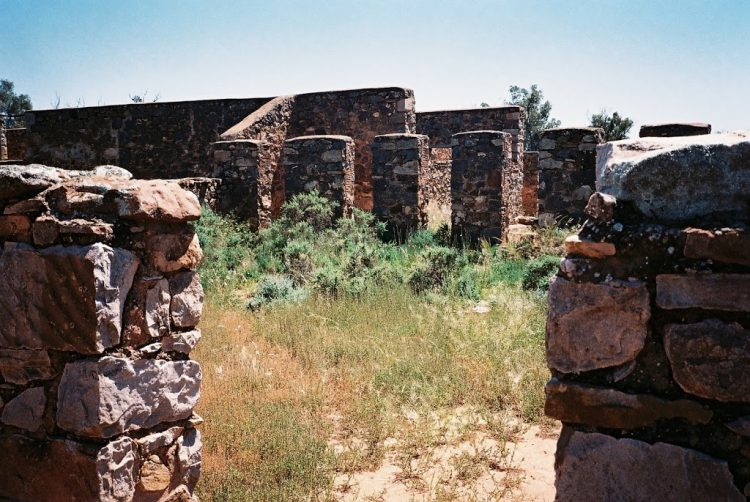 Kanyaka Ruins, Flinders Ranges, South Australia