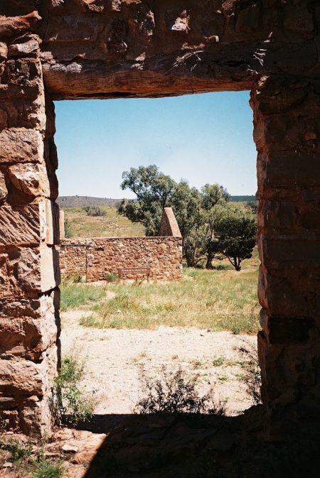 Window View, Kanyaka Homestead Ruins, Flinders Ranges, South Australia