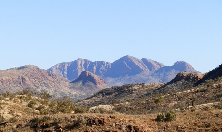 Mt Sonder, West MacDonnell Ranges via Alice Springs, Central Australia
