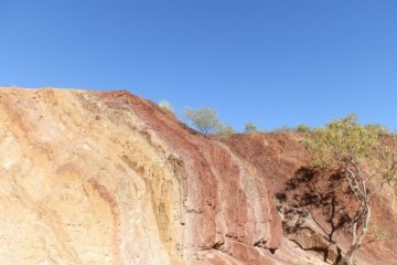 Ochre Pits, West MacDonnell Ranges via Alice Springs, Central Australia