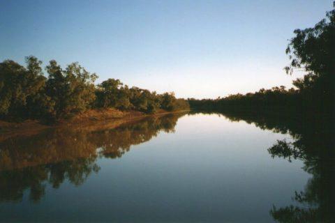 Cooper's Creek, Outback Queensland