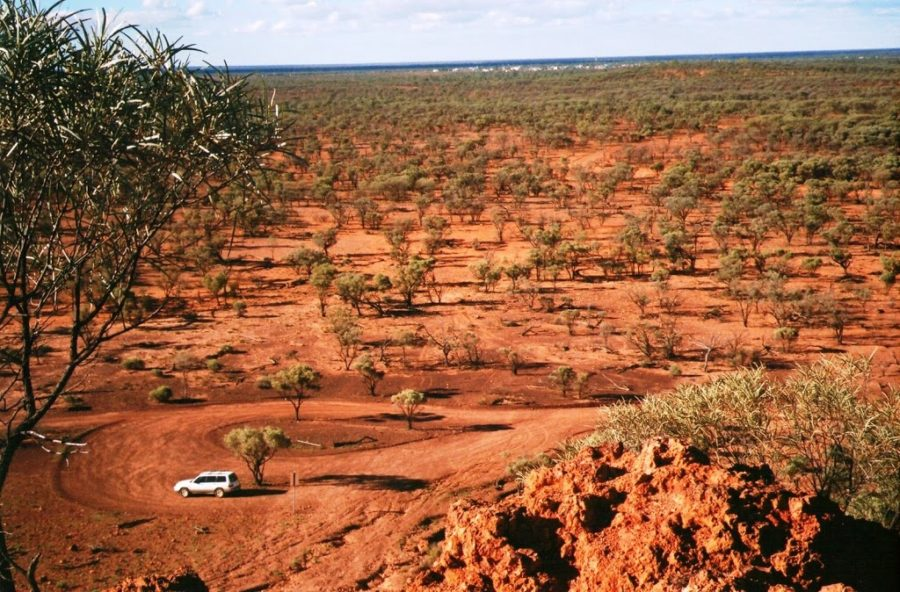 View from Baldy Top over Quilpie, Outback Queensland, Australia