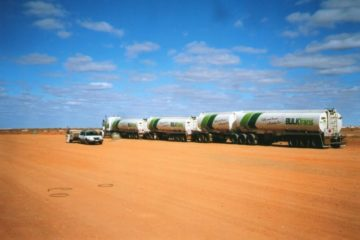 Truck Stop, Coober Pedy, South Australia