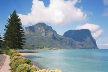 Mounts Lidgbird and Gower, Lord Howe Island
