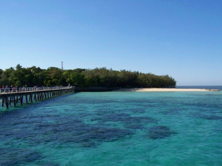 Green Island from the Jetty, via Cairns, Far North Queensland