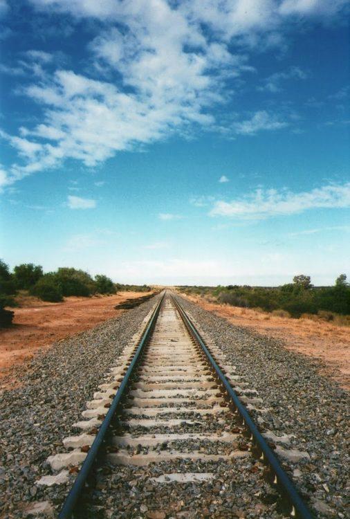 Railway Track, Menindee Lakes, NSW