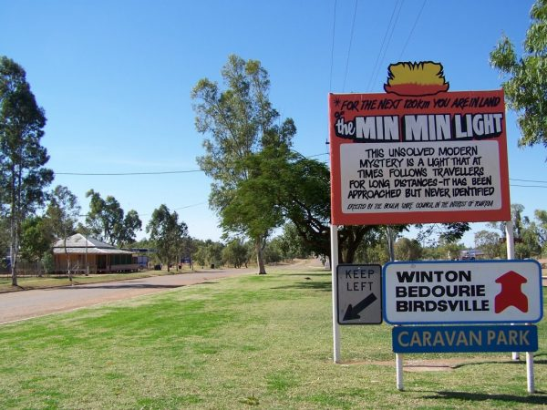 Min Min light country, Boulia, Queensland