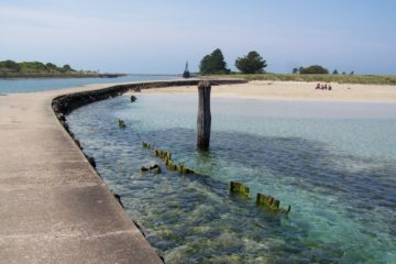 Causeway, Griffiths Island, Port Fairy