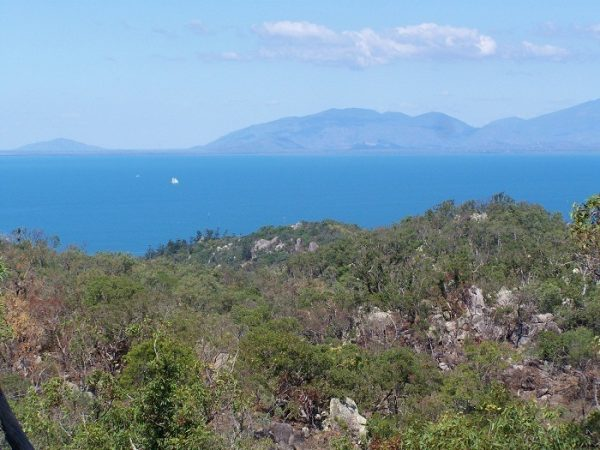 The mainland from the Nelly Bay to Arcadia walking trail, Magnetic Island, Queensland