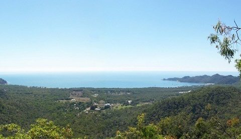 Horseshoe Bay from the Nelly Bay to Arcadia Track, Magnetic Island, Queensland