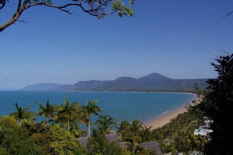 Looking South over 4 mile Beach, Port Douglas
