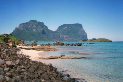 Mounts Gower and Lidgbird, Lord Howe Island, New South Wales