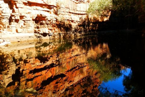 Reflections at the Grotto, via Wyndham, Western Australia